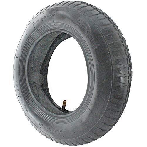 SPARES2GO Wheelbarrow Wheel Tyre and Inner Tube (3.50-8, 35PSi)