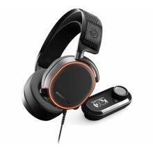 STEELSERIES Arctis Pro + GameDAC 7.1 Gaming Headset - Black - Used
