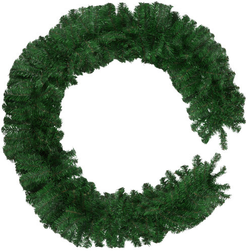 Christmas garland - green