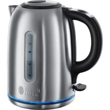 Russell Hobbs 20460 Cordless Electric Kettle - Fast Boil and Boil Dry Protection, 1.7 Litre, 3000 W, Grey