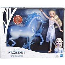 Disney Frozen Elsa Fashion Doll & Nokk Figure