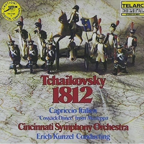 Erich Kunzel - Tchaikovsky: 1812; Capriccio Italien; Cossack Dance [CD]