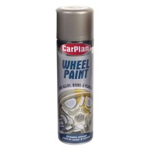 CarPlan Wheel Paint -500ml Steel x 6