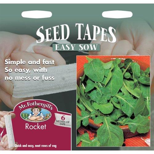 Mr Fothergills - Pictorial Packet - Vegetable - Rocket Seed Tape