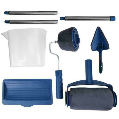 (8pc) Wall Paint Roller Kit