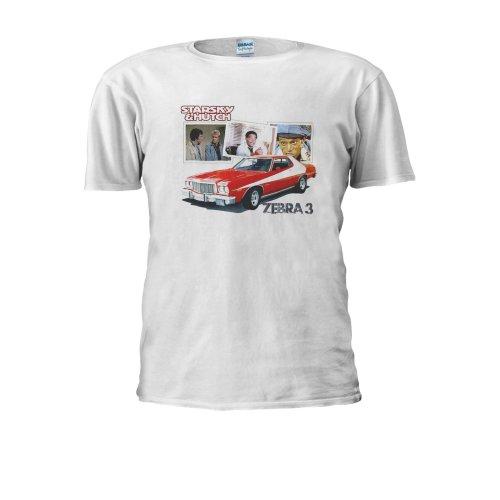 Ford Gran Torino Starsky Zebra & Hutch 3 retro 70s Men Women Unisex Top T Shirt