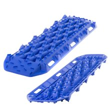 Rhino Pair of 4x4 Recovery Tracks 10t Off Road Traction (Blue)