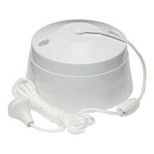 Knightsbridge SN8290 1-Way Pull Cord Switch, 10A white 1W