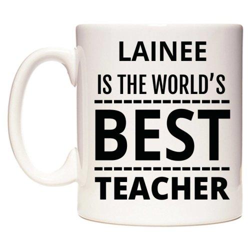 LAINEE Is The World's BEST Teacher Mug
