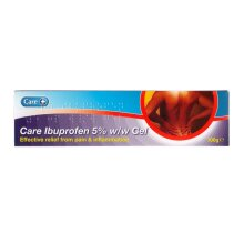 Care Ibuprofen 5% w/w Gel Pain & Inflammation relief
