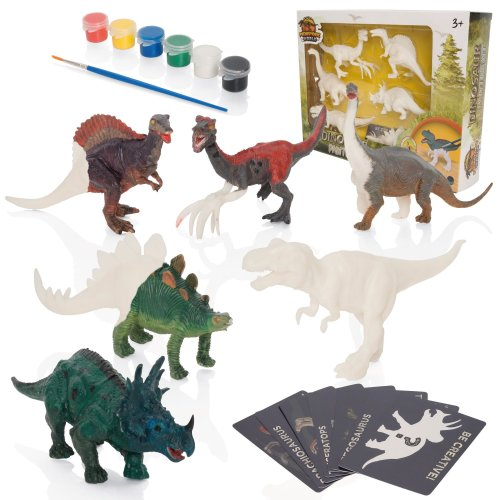 Prehistoric World Kids' Dinosaur Painting Kit