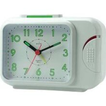 Acctim Sonnet Bell Alarm Clock White [12612]