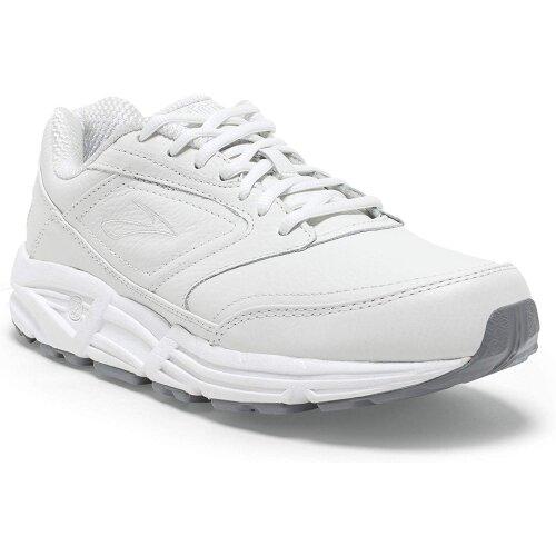 (3 UK) Brooks Womens Addiction Walker Walking Shoes, White/White