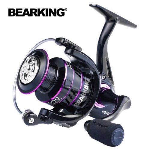 Fishing Reel Metal Spool Spinning Reel 10KG Max Drag Stainless Steel Handle Line Spool Saltwater Fishing Accessories|Fishing Reels(Colorful)