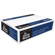 Arctic Royal Frozen Cod Fillets 170-200g - 1x20