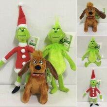 Grinch Plush Doll Kids Stuffed Toys Set Gifts