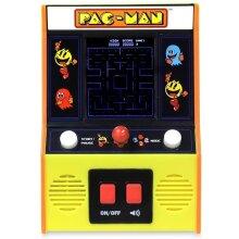 Basic Fun Retro Mini Arcade Game, LCD Colour Screen With 80's Graphics - Pac-Man