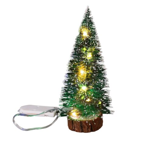 (warm light) Xmas Tree Artificial Christmas Pine Tree LED Light