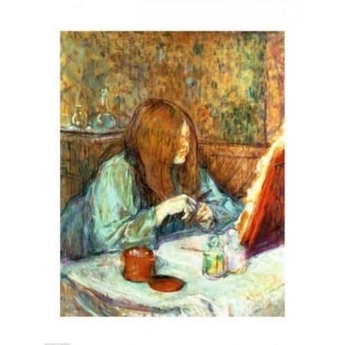 Madame Poupoule at Her Toilet 1898 Poster Print by Henri De Toulouse-Lautrec - 18 x 24 in.
