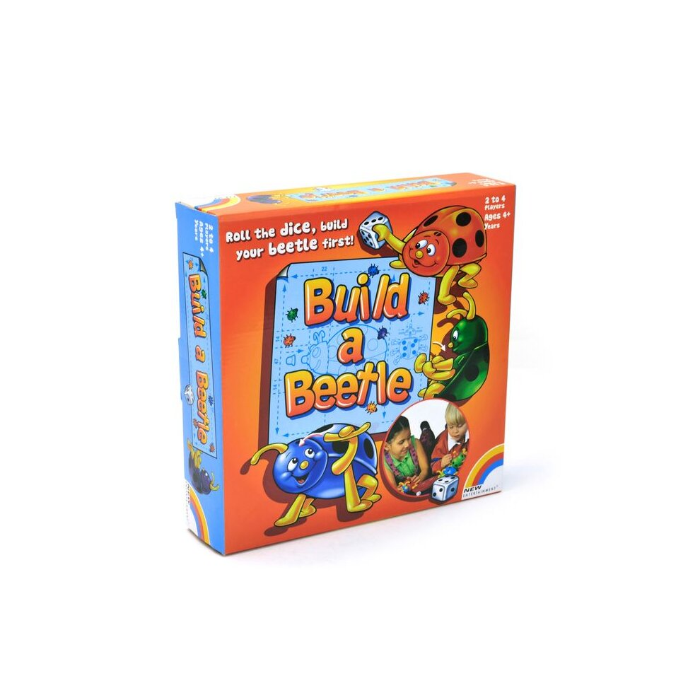 Build a Beetle Game 2 to 4 Players Suitable For Ages 4+ Years