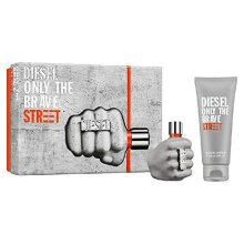 Diesel Only The Brave Street Gift Set 35ml EDT + 50ml Shower Gel