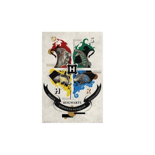 Harry Potter Poster Animal Crest 103