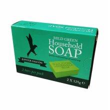 Falcon Green Household Soap - 2 X 125g   ( 2 bars )