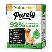 Naturediet Pet Foods Purely Lamb Complete Wet Food, 390 g
