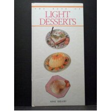 The Book of Light Desserts - Used