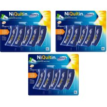 NiQuitin Mini Mint Lozenges, 4mg 300 Count, (15x 20 Packs) Stop Smoking *EXPIRY MAY 2022