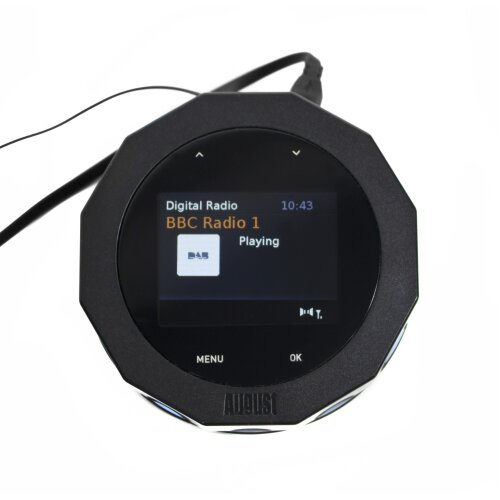 August DR245 Bluetooth Digital Radio