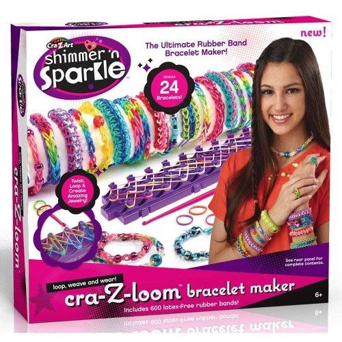 Cra-Z-Loom 17102 Shimmer n Sparkle Bracelet Maker Playset