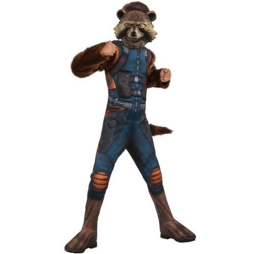 Kids Official Deluxe Rocket Raccoon Costume   Guardians of the Galaxy Avengers Endgame