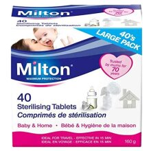400 Milton Sterilising Tablets - 10 x 40-Packs