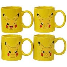 Pokemon Pikachu Mug (Pack of 4)