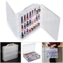 48 Lattice Chroma GEL Universal Nail Polish Case Holder Organizer