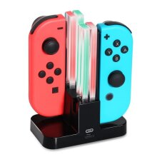 Valtron Nintendo Switch Joy-Con Charging Dock 4 in 1 Charger Stand