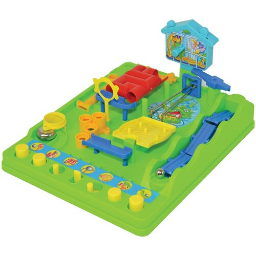 Tomy 7070 Activity Board Game Screwball Scramble Classic Toy Obstacle Course New