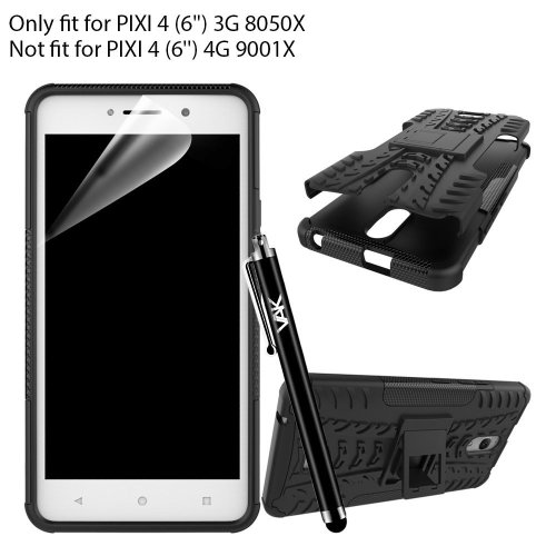 """For Alcatel Pixi 4 (6.0"""") 3G ShockProof Case Cover"""