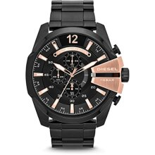 Diesel Mega Chief Men's Watch Chronograph DZ4309 New with Tags
