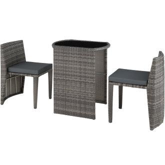 Rattan garden furniture set Hamburg -