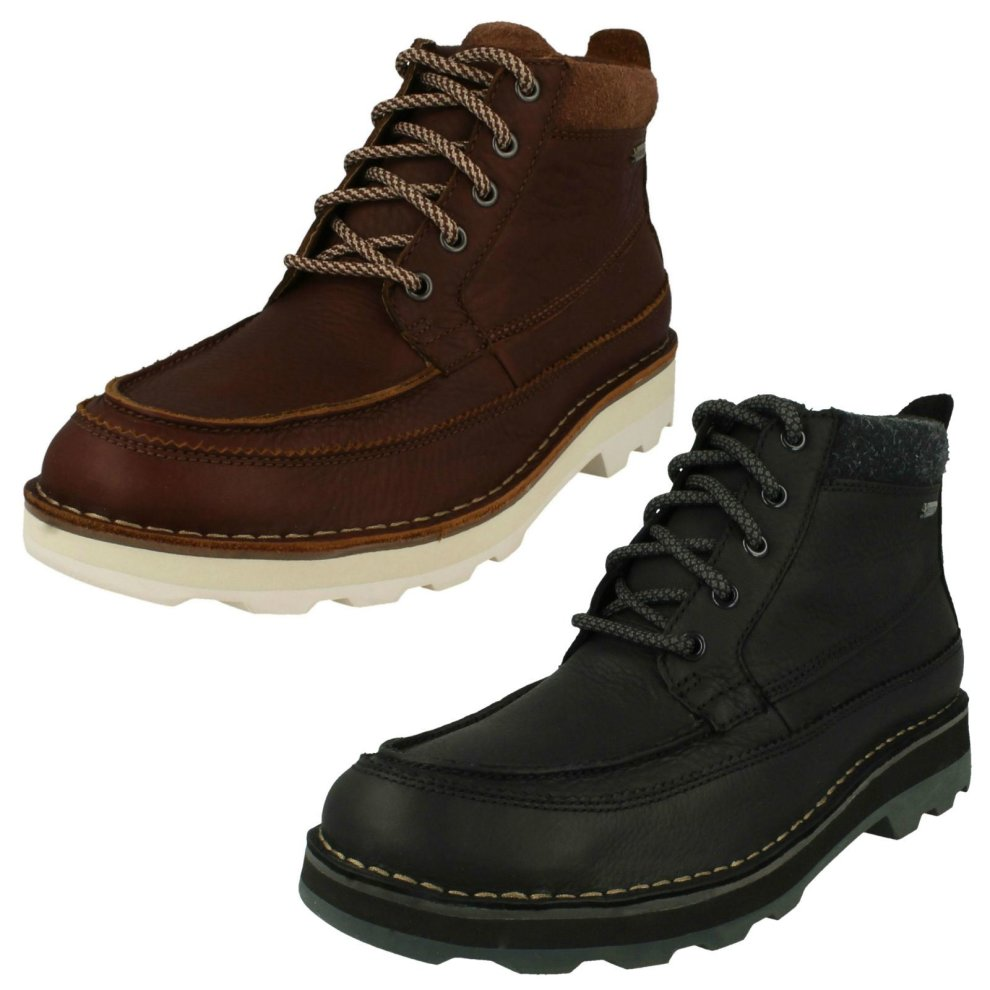 Mens Clarks Casual Gore-Tex Boots Korik