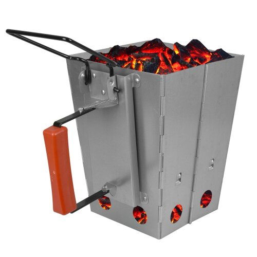 ASAB BBQ Charcoal Chimney Starter Grill Lighter Burner Coal