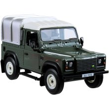 Britains 1:32 Land Rover Defender 90 With Canopy (Green)