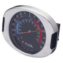 Taylor Pro Stainless Steel Fridge and Freezer Thermometer