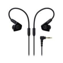 Audio-Technica ATH-LS50iS In-Ear Headphones for Smartphones - Black