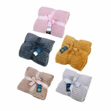 New Chunky Rib Throw Blankets Camping Throws