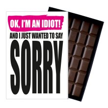 Gift to Say Sorry Chocolate Present to Apologise to Someone Special