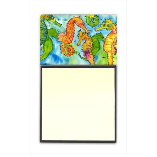 Seahorse Seahorse Refiillable Sticky Note Holder or Postit Note Dispenser  3 x 3 In.
