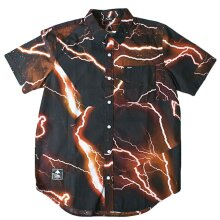 Lrg Shock to the Heart Short Sleeve Woven Shirt Black